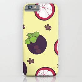 MANGOSTEEN PARTY iPhone Case