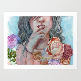 In this moment Art Print