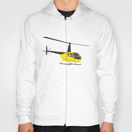 Light Black and Yellow Helicopter Hoody