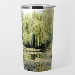 Willow Tree in Monet's Garden  Travel Mug