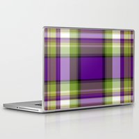 plaid Laptop & iPad Skins featuring Plaid by Kevin Rogerson