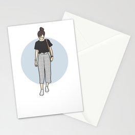 1990s Retro Fashion - Square Pants Stationery Cards