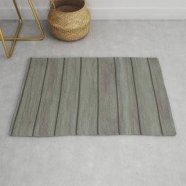 Wood boards Rug