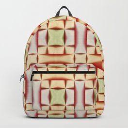 Abstract ornamental flowers Backpack