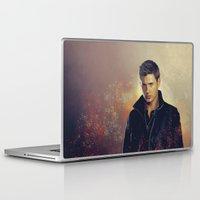 dean winchester Laptop & iPad Skins featuring Dean Winchester - Supernatural by KanaHyde
