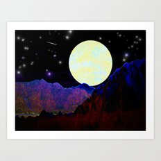 Valley of the Moon Art Print