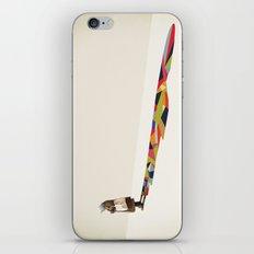 Walking Shadow, Old Lady iPhone & iPod Skin