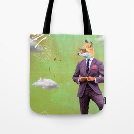 STYLE is FOREVER. FOX TROT. Tote Bag