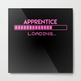 Apprentice Loading Metal Print