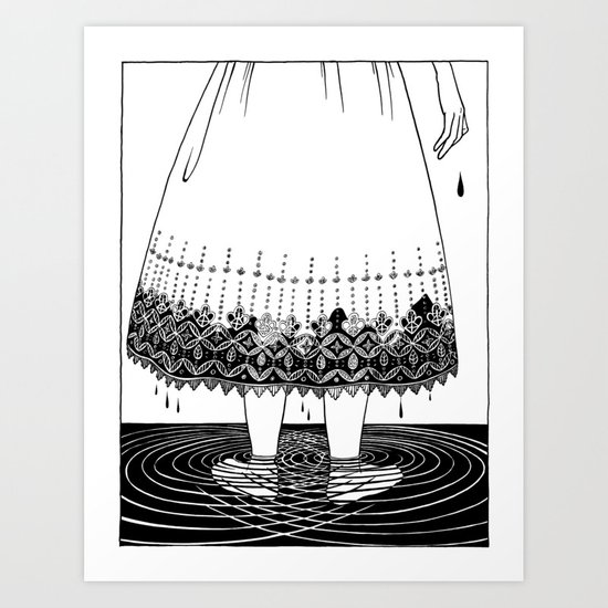 Dirty Hands and Dirty Knees Art Print
