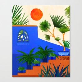 Southwest Summer Garden Canvas Print