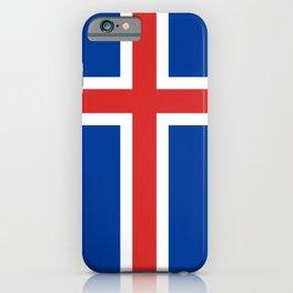 Flag of Iceland - Icelandic flag iPhone Case
