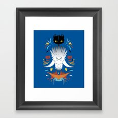 Trained Dragons Framed Art Print