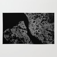 liverpool Area & Throw Rugs featuring Liverpool by Line Line Lines
