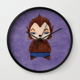 A Boy - Werewolf Wall Clock