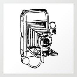 Camera. Art Print