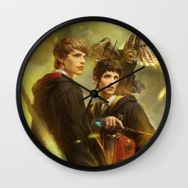 BBC Merlin: Emrys Ascending  Wall Clock