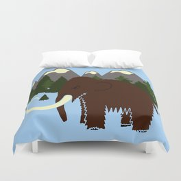 Woolly Mammoth Duvet Cover