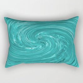 Watch the Swirling Water Go Down the Drain Rectangular Pillow