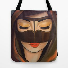 Burqa Beauty Tote Bag