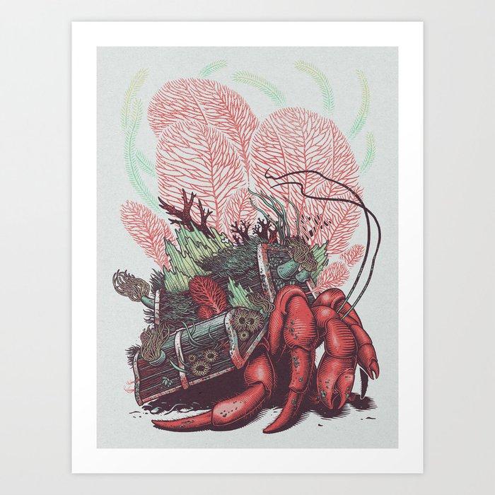 Hermit Art Print