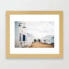 Island Living Framed Art Print