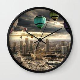 Flying High - Digital Art Wall Clock