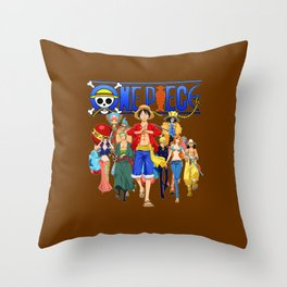 STRAW HAT PIRATES Throw Pillow