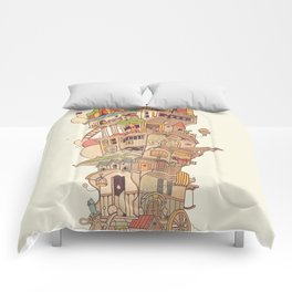 Traveling Circus Comforters
