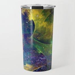 Fractal Galaxy Travel Mug