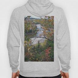 Winding River in Autumn Hoody