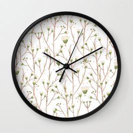 Slow - white edition Wall Clock