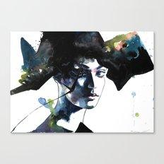 Hidden by Night  Canvas Print