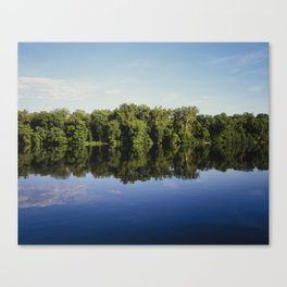 Potomac River Reflection Canvas Print