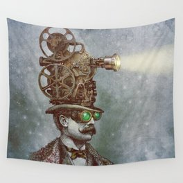 The Projectionist (colour option) Wall Tapestry