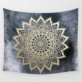 BOHO NIGHTS MANDALA Wall Tapestry