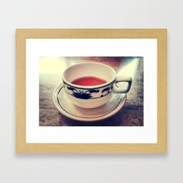 Teacup Framed Art Print
