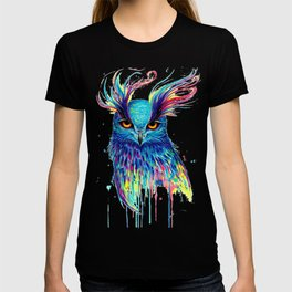 creative owl T-shirt