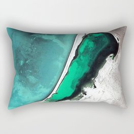 SILVER WATERS Rectangular Pillow