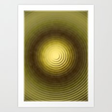 Top Circles  Art Print
