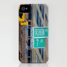 Fashion Avenue  iPhone (4, 4s) Slim Case