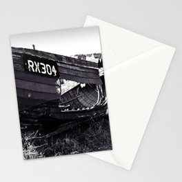 Fishing boat wreck Stationery Cards