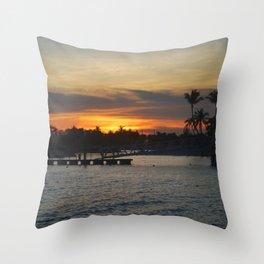 Sentosa Sunset Throw Pillow