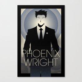 Phoenix Wright - 10th Anniversary Print Canvas Print