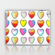 Paper Hearts Laptop & iPad Skin