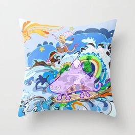 Catch me Throw Pillow