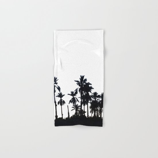 Date Palm Trees 3 Hand & Bath Towel