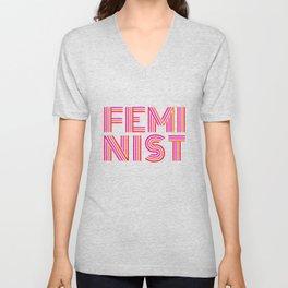FEM·I·NIST Unisex V-Neck