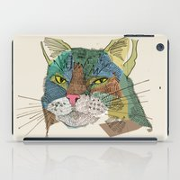 whisky iPad Cases featuring Whisky Cat by Faye Finney