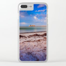City Pier on Anna Maria Island Clear iPhone Case